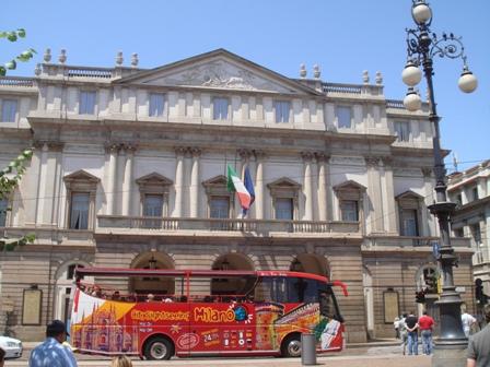At the Duomo in Milan