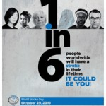 World Stroke Day 29th October 2010:  One in six: Act Now